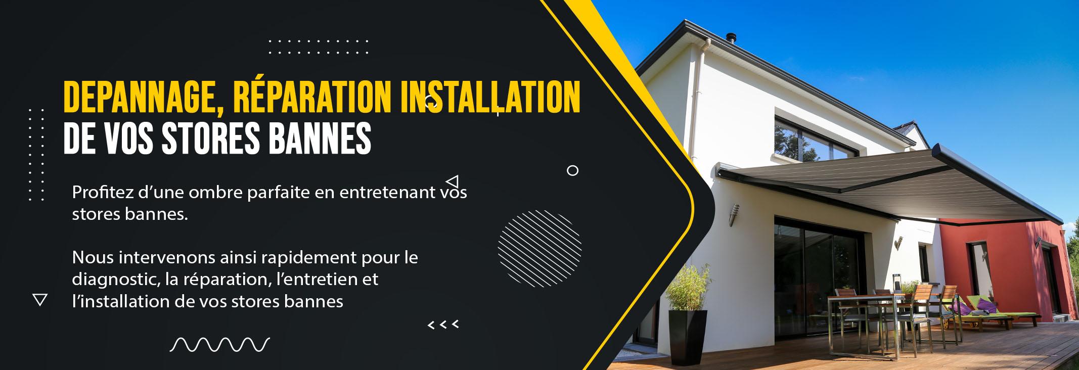 Installation Store Banne Vitry sur Seine 94400